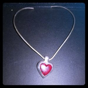 Jewelry - 2 for $25 SALE - Sterling silver heart necklace